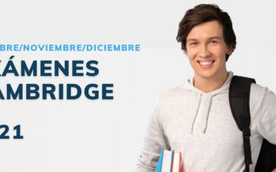 Exámenes Cambridge – ¡Inscripciones abiertas!